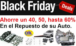 BLACK FRIDAY de REPUESTOS