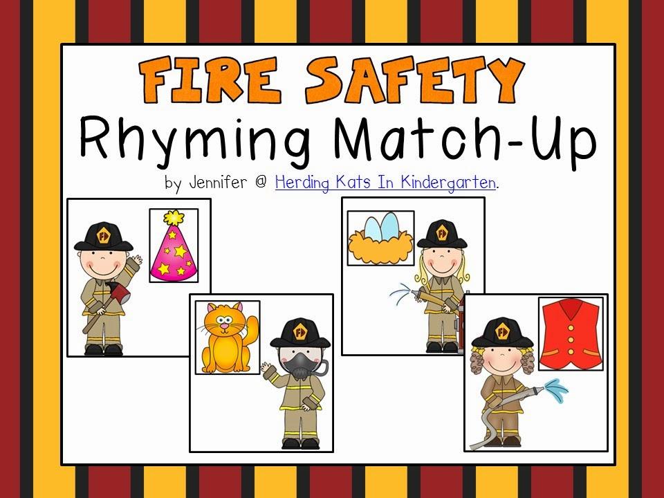 https://www.teacherspayteachers.com/Product/Fire-Safety-Themed-Rhyming-Match-Up-1477948