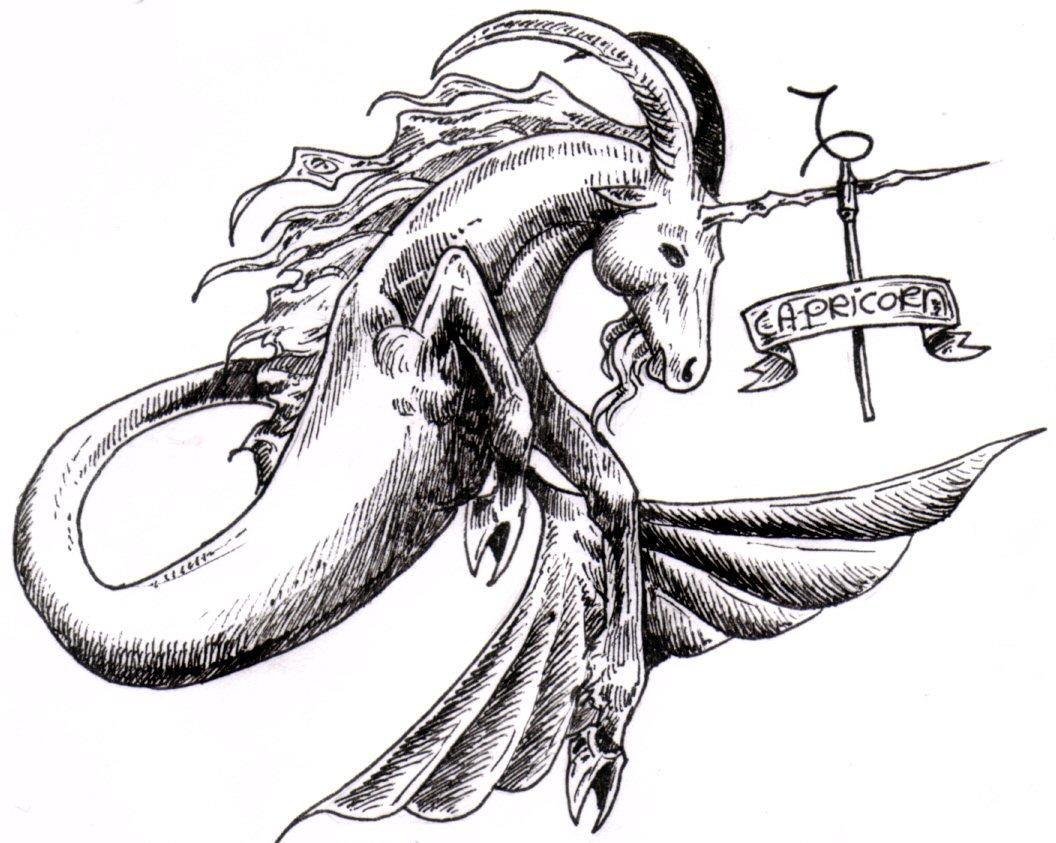 Zodiak Capricorn  Januari  Zodiak Wikipedia