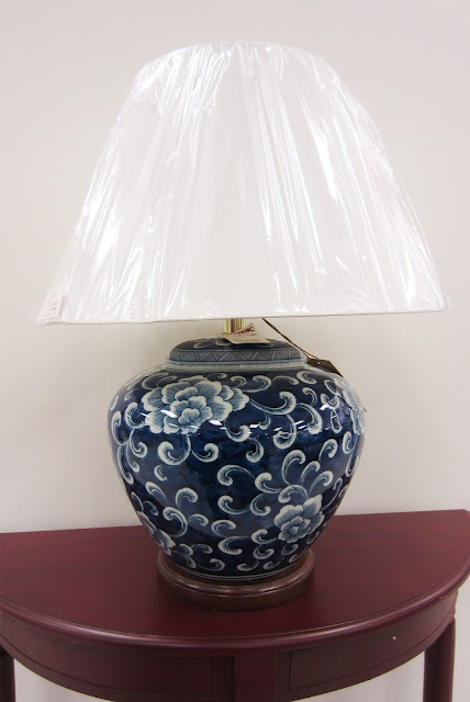 apartmentf15 blue & white asian inspired lamps
