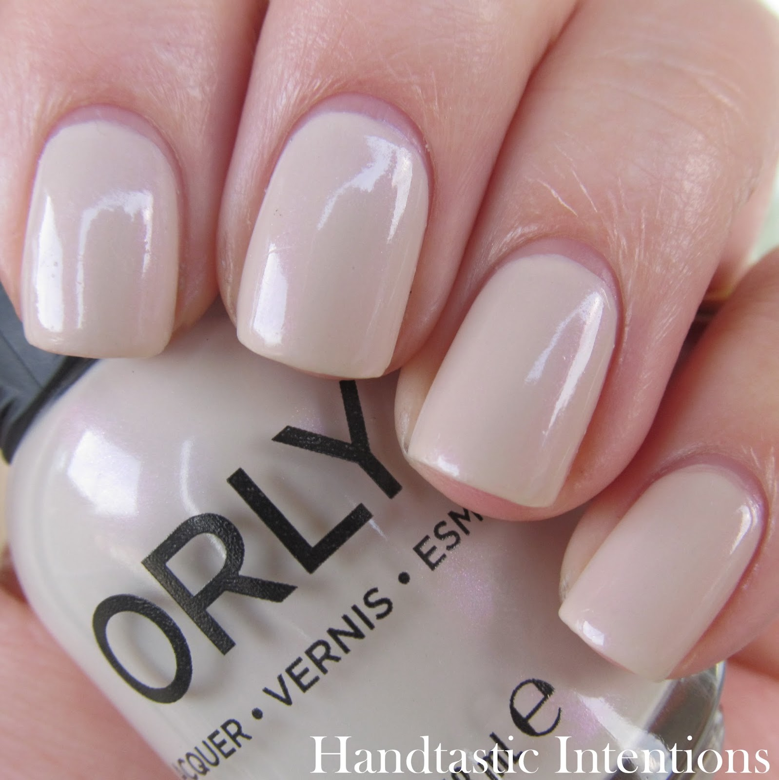 Handtastic Intentions Swatch And Review Of Orly Blush Spring