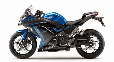 gambar Ninja 250 Special Edition 2015 Biru