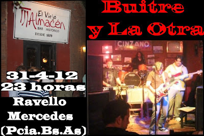 """Buitre y La Otra en """"El viejo almacén de Ravello"""" Hernan buitre Deheza, nex Lopez"""