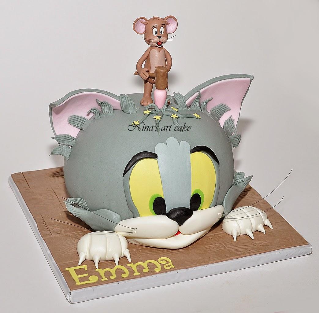 "Tort "" Tom & Jerry"" pentru Emma"