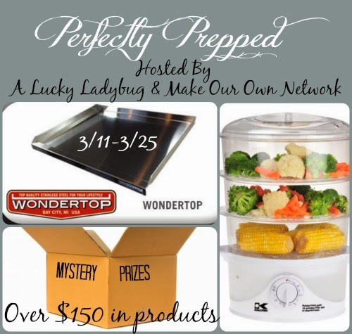 Enter the Perfectly Prepped Giveaway. Ends 3/25.