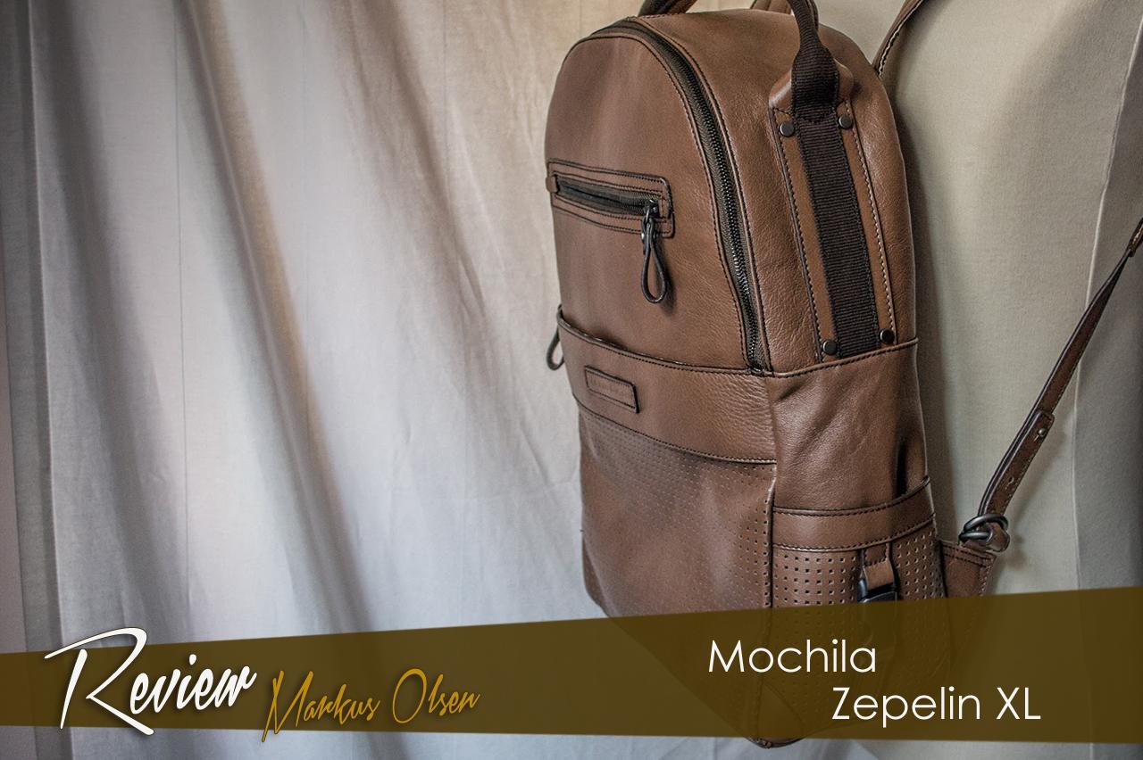Review mochila Zeppelin XL de Markus Olsen.