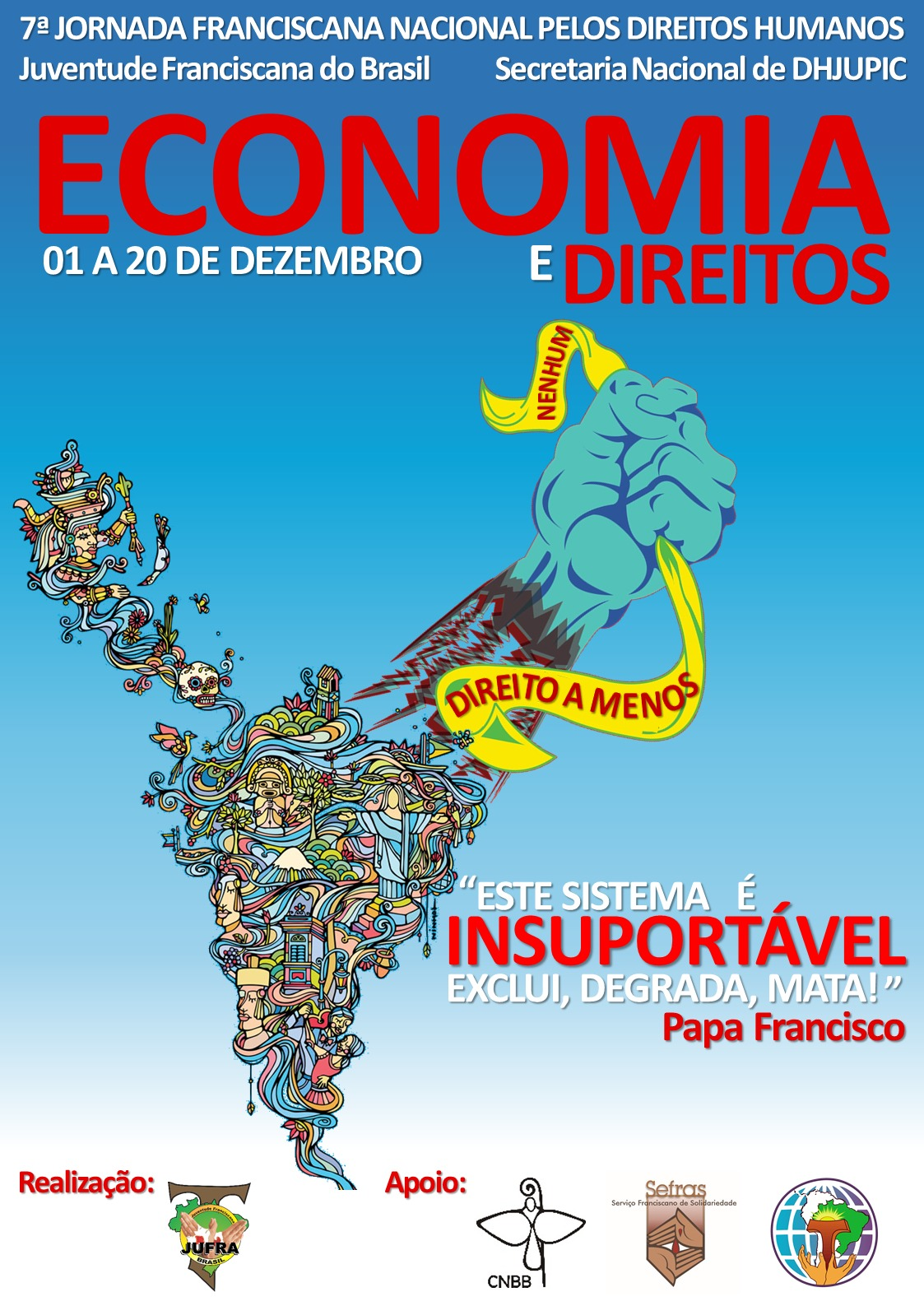 7ª Jornada Franciscana Nacional pelos Direitos Humanos