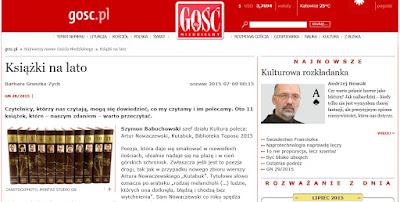 http://gosc.pl/doc/2579340.Ksiazki-na-lato