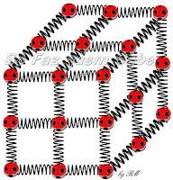 Esquema representativo da coesão das partículas no estado sólido.