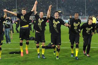 Borussia Dortmund se coronó Campeón de la Liga Alemana 2012