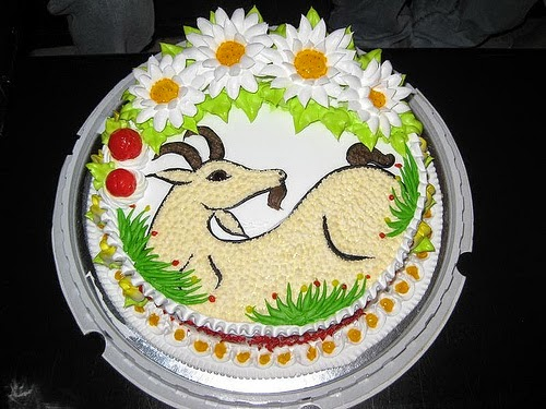 bánh sinh nhật cho người tuổi dê