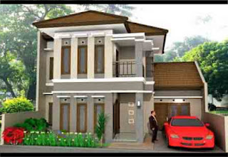 """contoh gambar rumah minimalis type 100 """" 1 dan 2 lantai"""