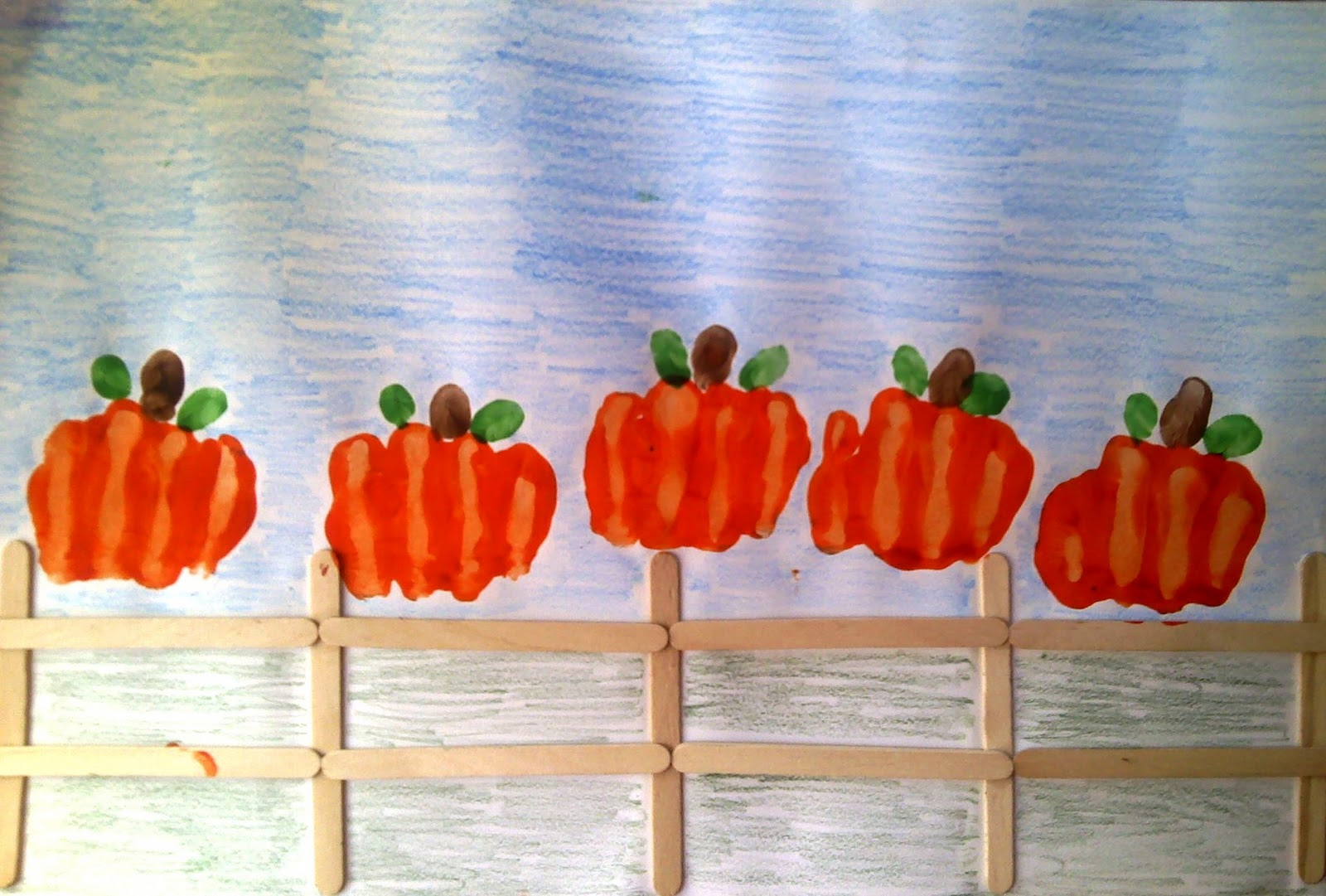 This is a photo of Gargantuan Pumpkin Projects for Kindergarten