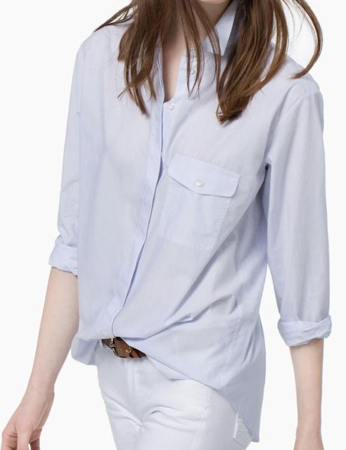 Rebajas SS 2015 fondo de armario camisa azul