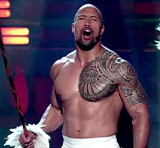 ... much would a tattoo like The Rock's shoulder tattoo typically cost