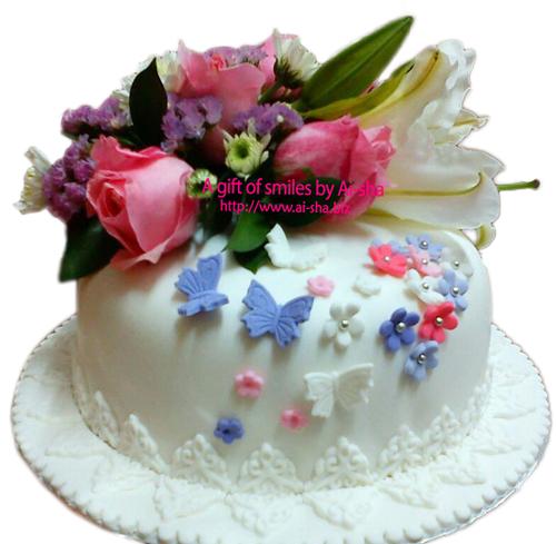 Fondant Cake Ai-sha Puchong Jaya