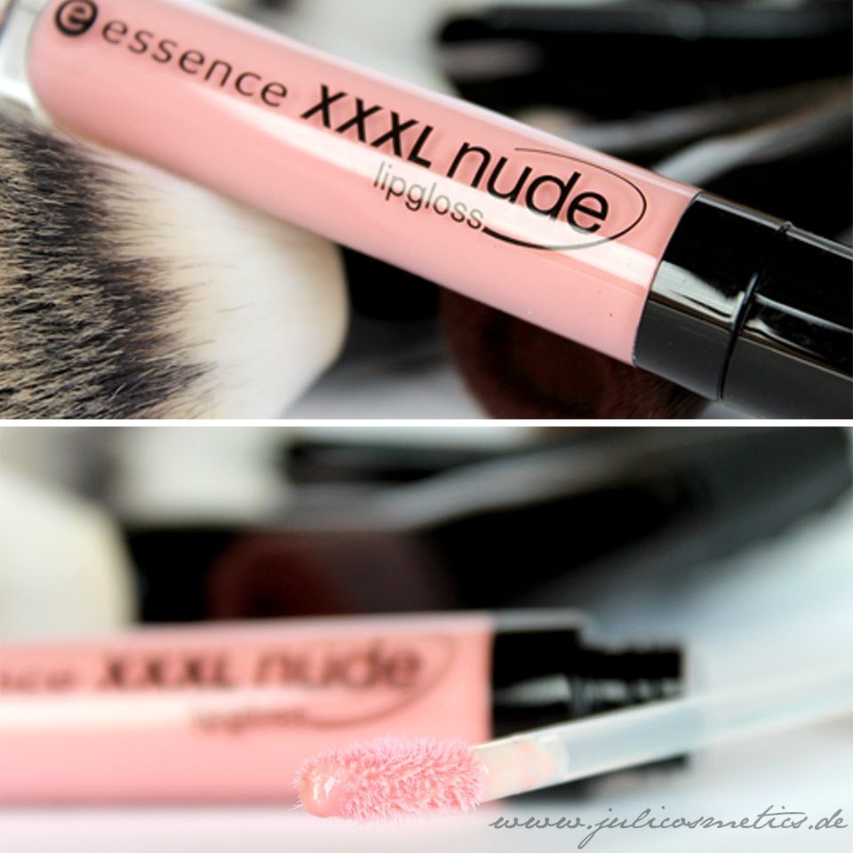 essence XXXL nude lipgloss - 01 shy beauty
