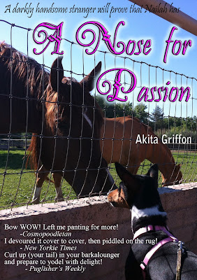 Nailah the Basenji rescue dog A Nose for Passion book cover