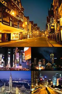 Города в картинках для рабочего стола