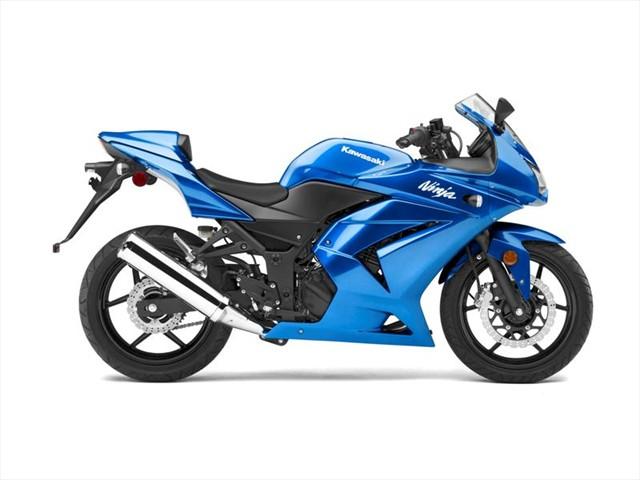 hot moto speed kawasaki ninja blue