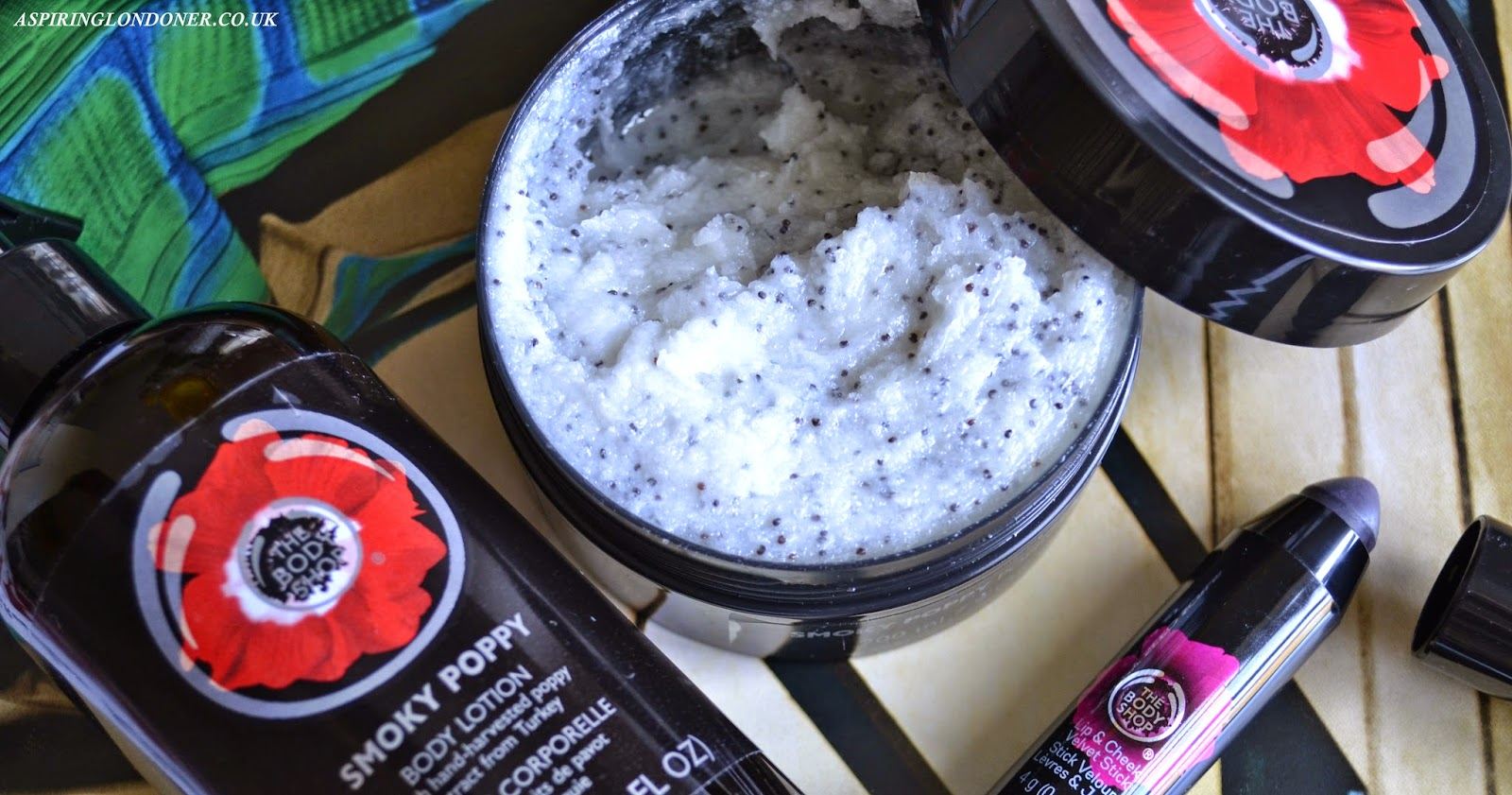 The Body Shop Smoky Poppy Range Review - Aspiring Londoner