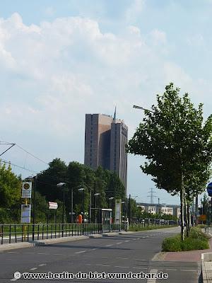 verschiedene bildern, berlin, hochhaus, piramide
