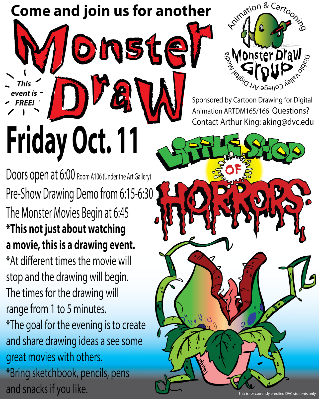 Fall 2013 Monster Draw