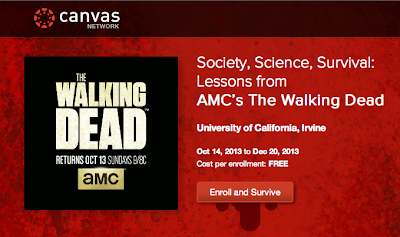 Society Science Survival : Lessons from AMC's The Walking Dead