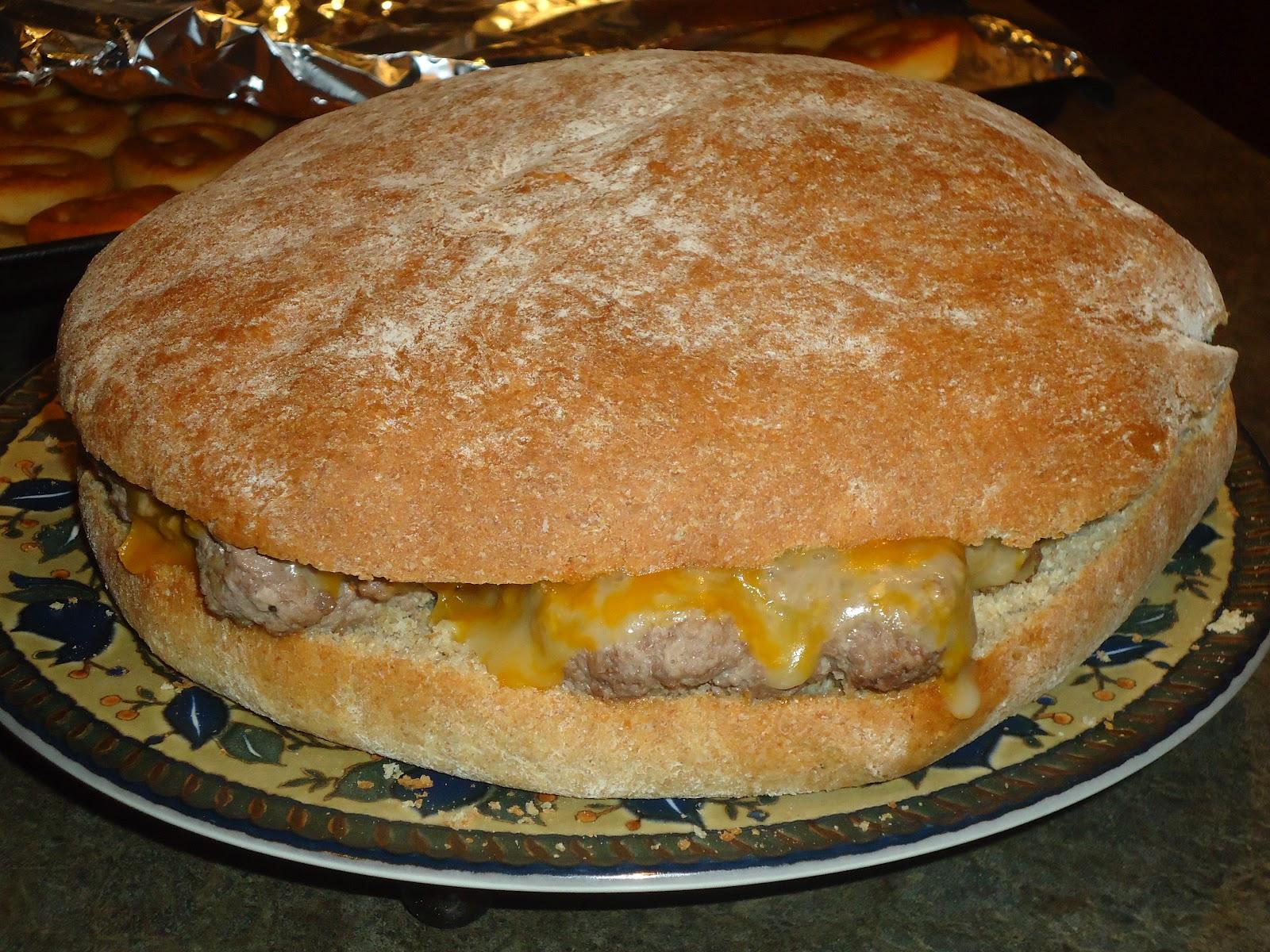 Worst Mom Ever Cheeseburger Cake