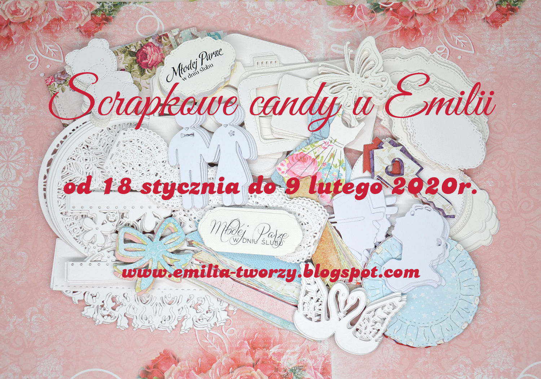 "candy na blogu ""Emilia tworzy"""