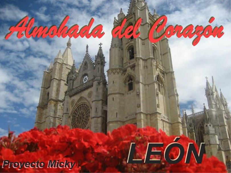 Almohada del corazon, León