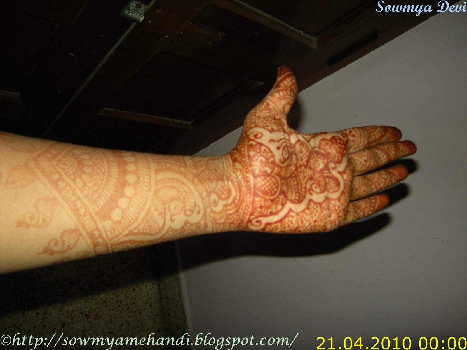 Mehndi Traditional Designs : Sowmya s mehndi traditional henna designs