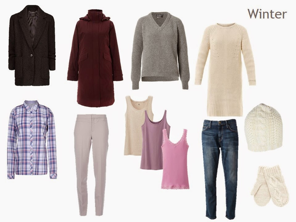 A winter capsule wardrobe from Ma To-Do List: Dressing