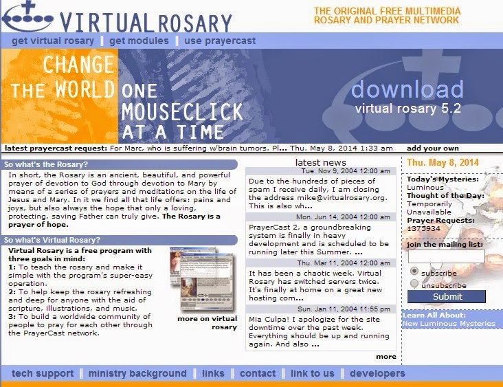 Virtual Rosary