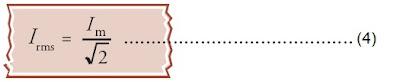 nilai efektif arus listrik