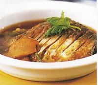 เมนูปลาตะเพียนต้มเค็ม