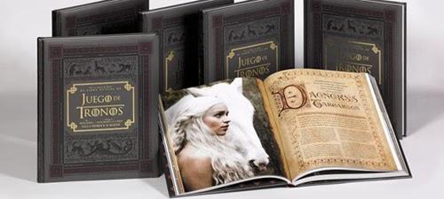 Libro oficial Juego de Tronos tras las cámaras - Juego de Tronos en los siete reinos