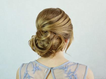 fryzura ślubna 1