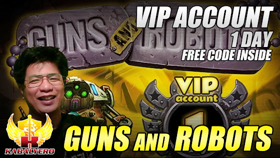 Guns And Robots, VIP Account, 1 Day, Free Code