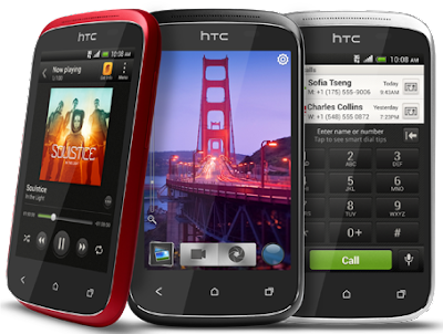 "HTC Desire C - 4"" - 5MP -  Android 4.0 ICS - 600 MHz - RAM 512MB - ROM 4GB -"