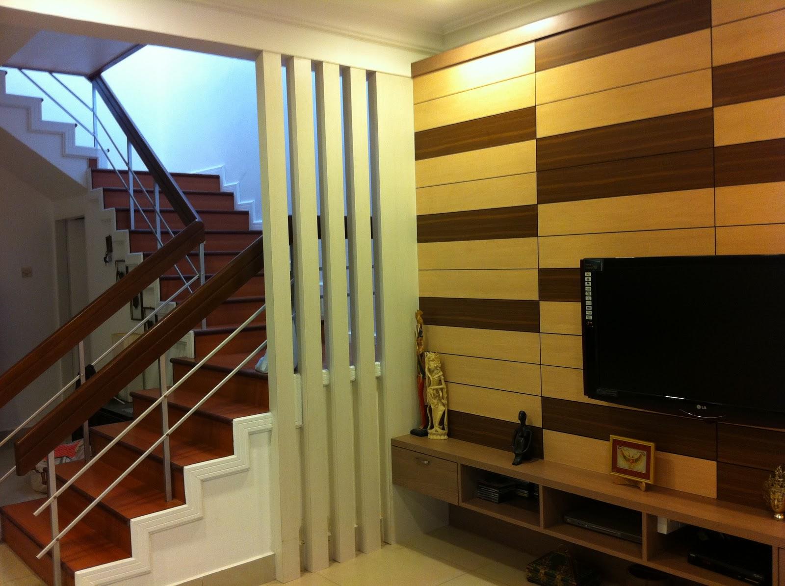 Interior design & renovation kuala terengganu: tv cabinet with ...