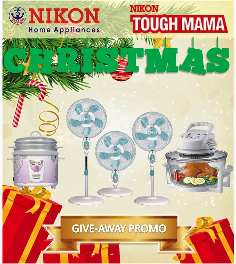 Nikon home appliances christmas giveaway mommy practicality
