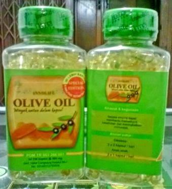 Minyak Zaitun Kapsul Innolife Olive Oil