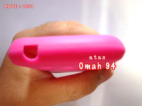 Silicone Case Rubber Full Keypad Samsung Galaxy Chat B5330 Merah Hati