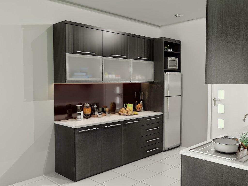 Desain Kitchen Set Minimalis Raja Disain Interior