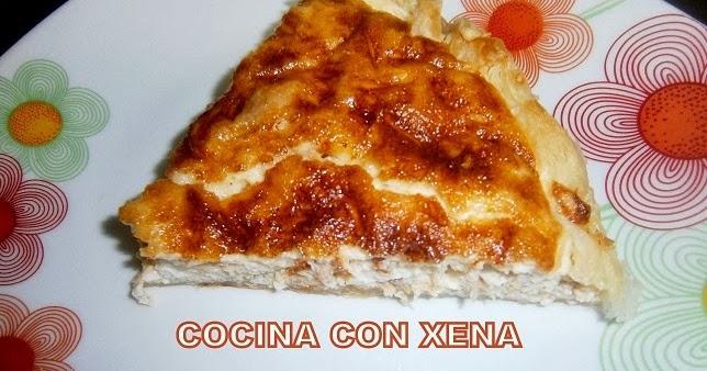 Cocina con xena quiche de at n en gm d for Cocina con xena olla gm d