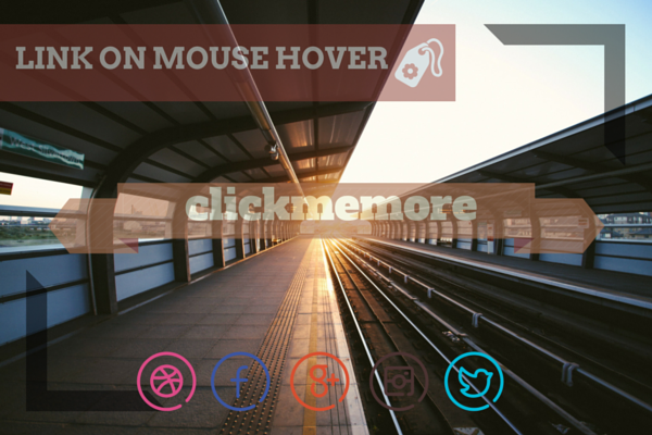 Link On Mouse Hover