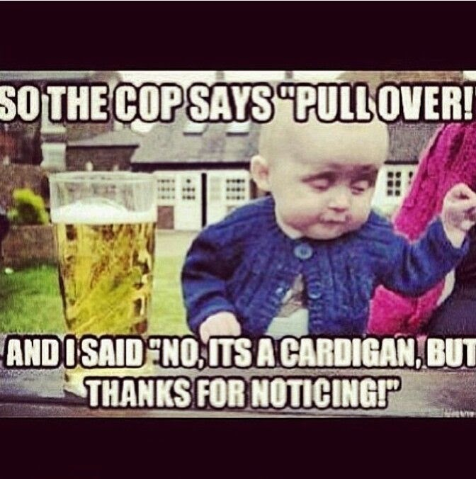 So The Cop Say's Pull Over