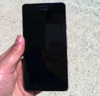 Huawei Ascend P2 Dibalut Material Pelindung Dari Debu dan Air