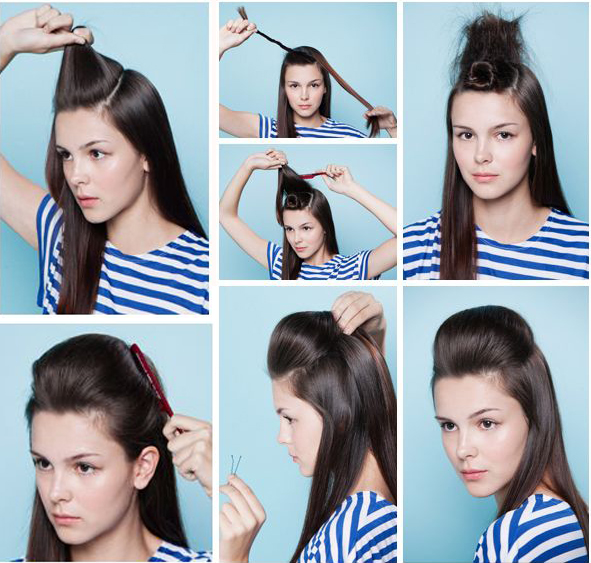 Hairstyles For Party Look : Party look hairstyle for long hair toronto calgary edmonton
